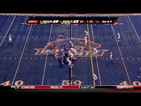 Boise State QB Kellen Moore Official Highlights vs. Oregon