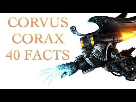 40 Facts and Lore about Corvus Corax Warhammer 40K