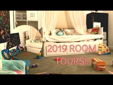 Playroom Makeover 2019 - Kids New Room Tour