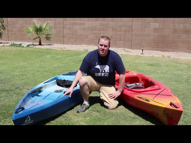 Ascend D10  Kayak vs D10T Kayak - Side By Side Kayak Comparison and Review 2014