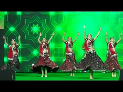 Medley of Indian popular songs, Indian Dance Group Mayuri, Russia