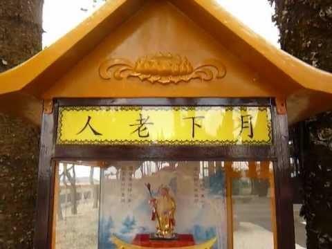 日月潭玄奘寺的月下老人販賣機(Love Autovendor  Machine From Sun Moon Lake in Taiwan)