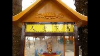 日月潭玄奘寺的月下老人販賣機(Love Autovendor  Machine From Sun Moon Lake in Taiwan)