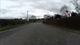 the around a pound tandragee 100 road races 3rd 4th may 2013 on board footage