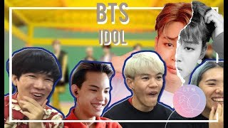 BTS (방탄소년단) - IDOL   MV Reaction รีแอคชั่น [Thai Ver./Eng Sub]