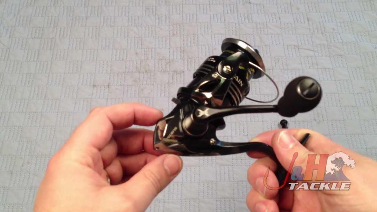 Shimano Sustain SA2500FG Spinning Reel - J&H Tackle - YouTube