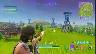Didn't mean to hot the guy in the bush. fortnite clip