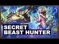 Secret Beast Hunter | Rastakhan's Rumble | Hearthstone