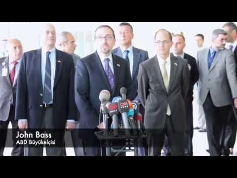 ABD Büyükelçisi John Bass Ankara'da /  U.S. Ambassador to Turkey arrived Ankara