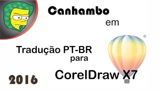 Tradução CorelDraw X7 PT-BR - Português Brasil - Baixar e instalar tradução corel draw