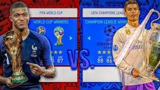 World Cup WINNERS vs. Champions League WINNERS! - FIFA 19 Career Mode