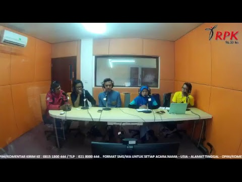 RPKFM 9630 Live Stream - You And The City Bersama Komunitas Good Reads Indonesia @bacaituseru