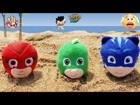 PJ MASKS / Romeo qué has hecho esta vez?? Héroes en Pijamas juguetes en español