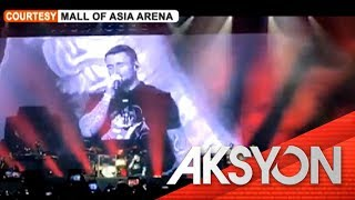 Maroon 5 concert, dinagsa ng Pinoy fans