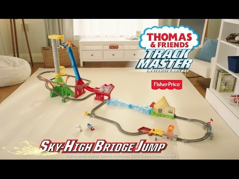 Thomas Sky High Bridge Jump Toys Thomas Friends Youtube