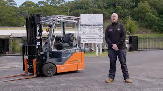 Meaty Order Of Toyota Forklifts For Organic Food Business