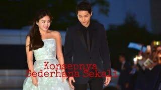 SEDERHANA..Begini Konsep Pernikahan Song Joong Ki dan Song Hye Kyo.!!