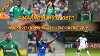 Download KAIZER CHIEFS SHOPPING LIST|COACH AND PLAYERS AMAKHOSI MUST GET FOR 2019/20 SEASON Mp3