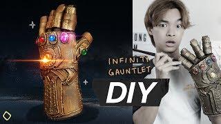 ทำถุงมือ Infinity Gautlet ใน Avengers - จงทำDIY