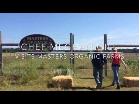 Chef Meghan Gill of Gordon Ramsay Pub & Grill Atlantic City visits Masters Organic Farms