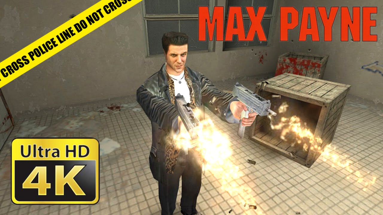 Max Payne Old Games In 4k Youtube