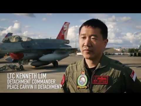 Acing Modern Air Combat   Ex Red Flag Alaska  - The Republic of Singapore Air Force