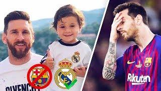 vuclip Ce que le fils de Messi fait quand le Real Madrid marque un but - Oh My Goal