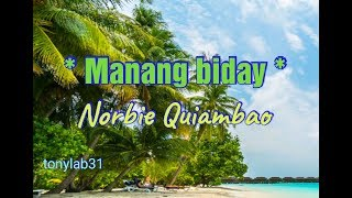Manang biday - Norbie Q.mp4