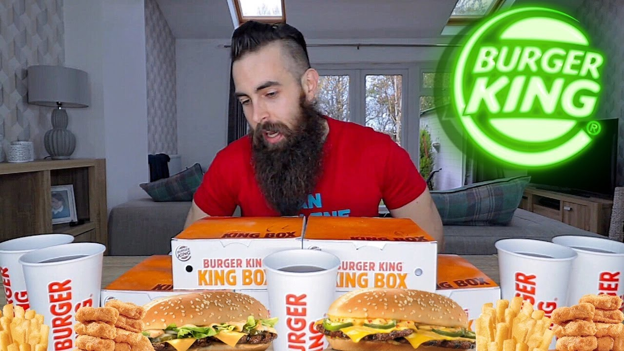 The 5 Bk King Box Challenge Beardmeatsfood