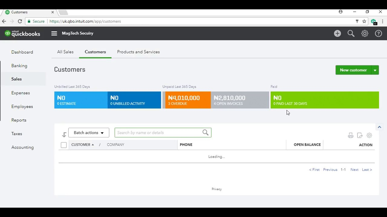 FREE QuickBooks Online Training - Add Customers & Balances