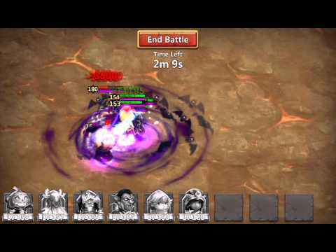 Castle Clash: Teir 2 Only Heavy Blow Stunning
