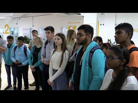 """Подростки из Индии впервые приехали в образовательный центр """"Сириус""""."""