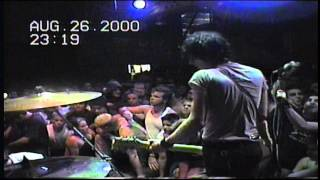 The Nerve Agents (Full Set) Live 8/26/00  at 924 Gilman Street in Berkeley
