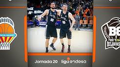 Valencia Basket - RETAbet Bilbao Basket (78-81) RESUMEN   Liga Endesa 2019-20
