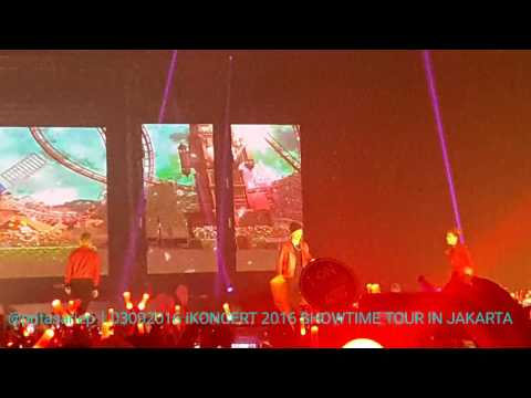 [FANCAM] 160903 iKON - TODAY @ iKONCERT 2016 SHOWTIME TOUR IN JAKARTA