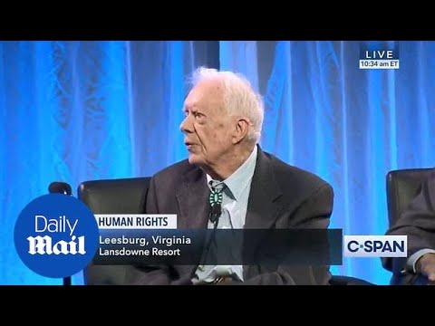 Former President Jimmy Carter says Trump 'put into office' by Russia