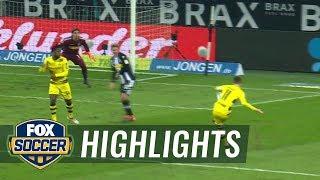 Monchengladbach vs Dortmund  2017-18 Bundesliga Highlights