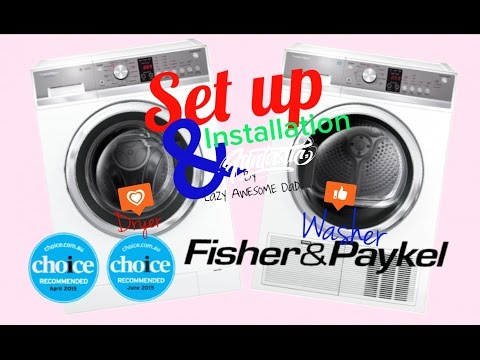 Fisher & Paykel 8.5kg Front Load WashSmart Washer WH8560P1 & 8kg Condensing Dryer DE8060P2 Unboxing