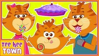 Three Little Kittens | Nursery Rhymes And Kids Songs by Teehee Town