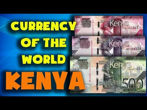Currency Of The World - Kenya. Kenyan Shilling. Exchange Rates Kenya.Kenyan Banknotes Kenyan Coins