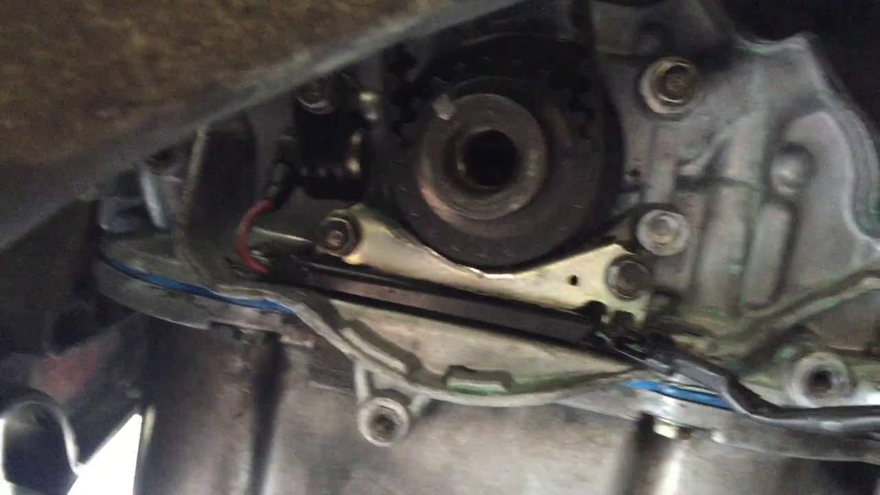 crankshaft position sensor on my 2000 honda prelude sh [ 1280 x 720 Pixel ]