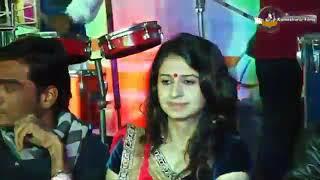 Sagar Patel and Kinjal dave live Garba. At Aithor shri varahi mataji pran pratishtha mahotsav Aithor