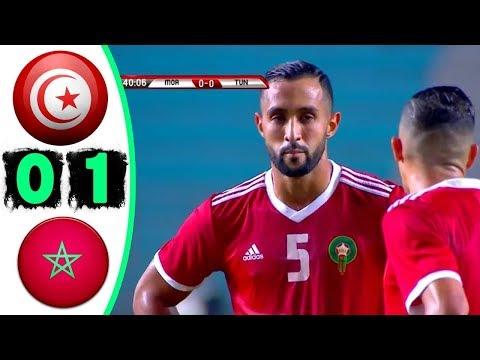 ملخص مباراة المغرب وتونس 1-0 - جنون خليل البلوشي - maroc vs tunisie 1-0