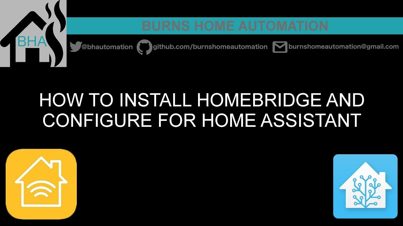 How to install Homebridge and configure for Home Assistant
