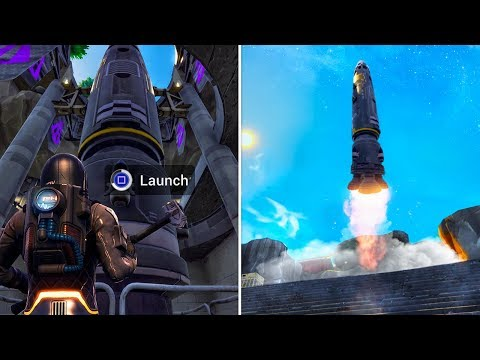 Launching The Rocket At Pleasant Park (What Happens?) In Fortnite Battle Royale