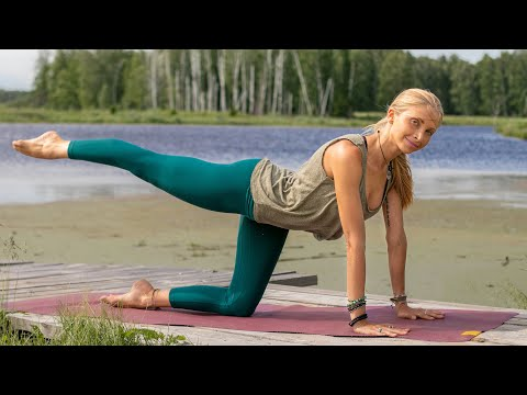 Beginner Yoga Workout | Easy Yoga For Weight Loss – Siberia