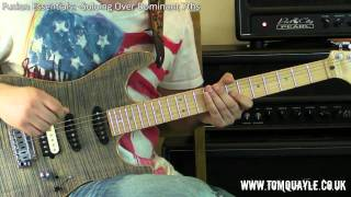 2 Free Sample Licks - Fusion Essentials: - Soloing Over Dominant 7th Chords