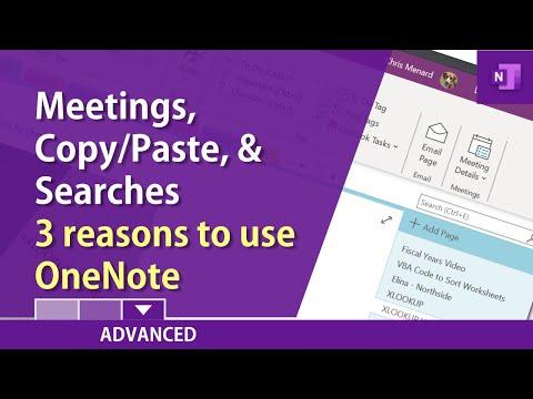 Three reasons to use OneNote - Microsoft's digital note taking app by Chris Menard