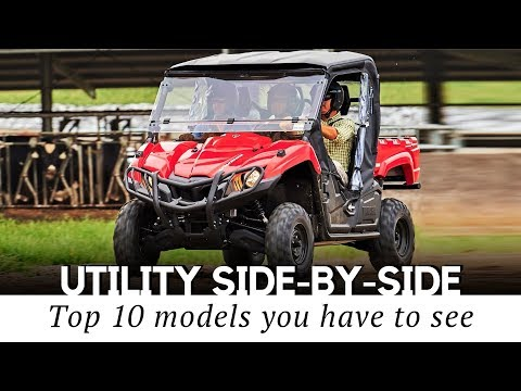 10 Best Utility Side-By-Sides and Recreational UTVs for Work and Play