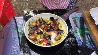 Как приготовить баклажаны с овощами по-китайски